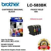 BROTHER Tinta LC583BK   LC583 BK Original LC-583BK Black