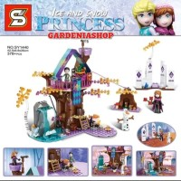 BRICK SY 1440 FROZEN ENCHANTED HOUSE