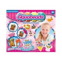Mainan Edukasi Aquabeads Jewel Party Food Set