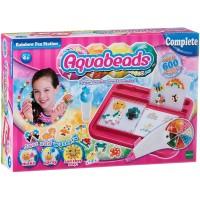 Mainan Edukasi Aquabeads Rainbow Pen Station Set