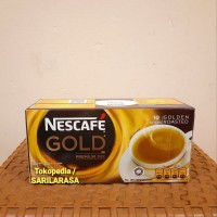 Eceran Termurah!! Nescafe GOLD 3in1 Premium Mix Golden Roasted