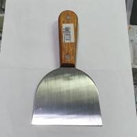 Spatula Scraper Stainless Steel, Lebar mata pisau 10.5cm
