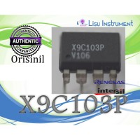 ORIGINAL X9C103P X9C103 Digital Potentiometer 10K DIP-8 Intersil