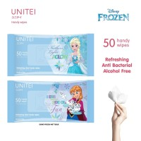 UNITEI ANTI BACTERIAL WIPES ISI 50 SHEET / WET TISSUE
