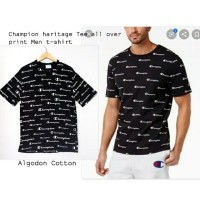 Chmp Haritage tee all over print T-shirt