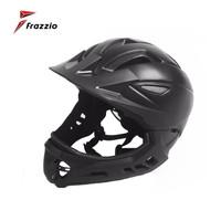 FRAZZIO FR-318K Kid Bike Full Face 2 in 1 Helmet - Helm Sepeda BLACK