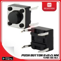 PUSH BUTTON SWITCH 6x6x5 MM 4 PIN TACTILE SWITCH 6x6x5