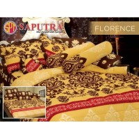 Saputra Bed Cover Set Queen Florence / Bedcover 160x200
