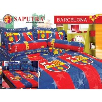 Saputra Bed Cover Set King Barcelona / Bedcover 180x200