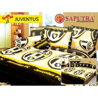 Saputra Bed Cover Set Queen Juventus / Bedcover 160x200