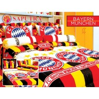 Saputra Bed Cover Set King Bayer Munchen / Bedcover 180x200