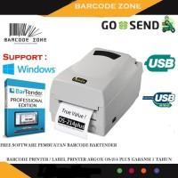 Printer barcode ARGOX OS-214 PLUS label printer