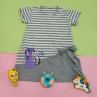 Dress Salur Anak Perempuan Murah 2-5 thn