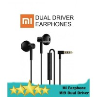 Headset Earphone Xiaomi MI9 Hi Res Audio - Dual Driver Hybrid