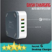 SG A8101 8USB Desktop Charger QC3.0 - Desktop Quick Charge 50W - 10A
