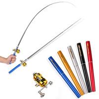 Pancingan Pulpen Mini Fishing Rod Pen Joran Pancing Pulpen Pancingan - Pena Hitam