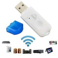 USB Bluetooth Audio Receiver Wireless with Mic Music Receiver Dongle
