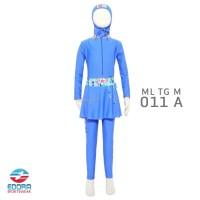 Baju Renang Anak Muslim Muslimah SD Cewek Perempuan ML TG M 001