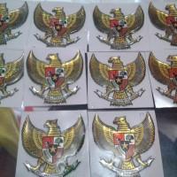 Sticker Burung Garuda 3D new