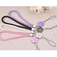 Elegant Sparkling Flower Weave Phone Strap / Wallet Strap / Bag strap