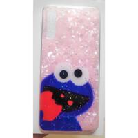 Casing SAMSUNG S10 PLUS Cute Elmo - Cookie Marble Soft Case