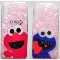 Casing OPPO A5 2020/A9 2020 Cute Elmo - Cookie Marble Soft Case