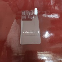 tempered glass andromax U3 anti gores kaca 0.3mini screen guard