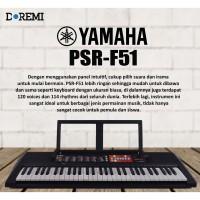 YAMAHA PORTABLE KEYBOARD PSR-F51 / PSR F 51 / PSR F51