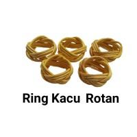ring kacu rotan ring hasduk rotan perlengkapan pramuka