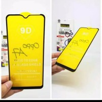 Tempered glass full oppo A7 6.2 inchi