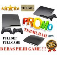 SONY PS3 SLIM HDD 120gb - seri 25xx - 1 stick -FULL GAME TERBARU