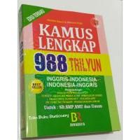 Kamus Bahasa Inggris Indonesia Lengkap 988 Trilyun-Berwarna