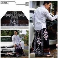 Sarung Batik Cap/Sarung Batik Motif Aksara Jawa/Sarung Batik Exclusive