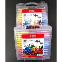 Crayon Titi 55 Warna / Krayon Titi 55 Warna