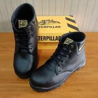 Sepatu Safety Boots Caterpillar - Sepatu Boots Safety Kerja Lapangan