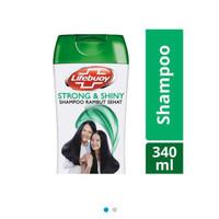 Lifebuoy Shampoo 340 Ml - Strong & Shiny