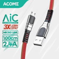 ACOME Kabel Data/Charger Micro USB Fast Charging 2.4A AKM-010