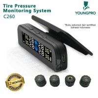 YOUNGPRO - SOLAR TPMS SOLAR C260 ​​TYRE PRESSURE MONITORING SYSTEM