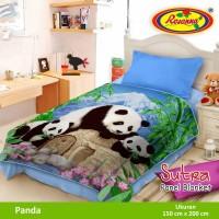 Selimut Rosanna Sutra Panel 150x200 Panda