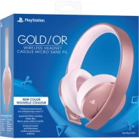 PS4 Wireless Headset Rose Gold