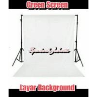 TERMURAH! kain layar Background foto / green screen meteran kain