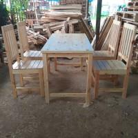 meja furniture wood jati belanda