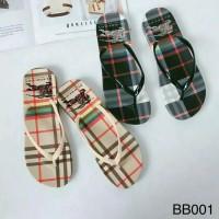 Sandal sendal wanita flat teplek jepit flip flop jelly sgc 23