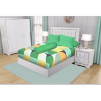 SPREI KING CALIFORNIA FITTED 180X200 TWIGGY + Free Masker