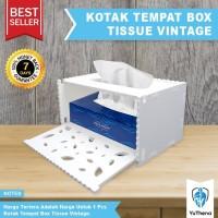 Kotak Tisu Box Tissue Tempat Tisu Vintage DIY YuThena