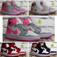 TRENDY Sepatu wanita nike jordan wedges sneakers olahraga basket made