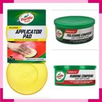 Turtle Wax BUNDLE Rubbing Polishing Compound & Applicator Pad