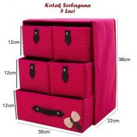 Best Seller Kotak Serbaguna 5 Laci Storage Box Tempat Penyimpanan