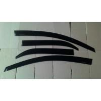 Talang Air Honda BRIO Slim Hitam Sidevisor Brio Slim Black Side Visor