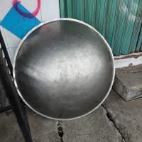 wajan pengorengan stenlis kw bahan india tebel 115 cm